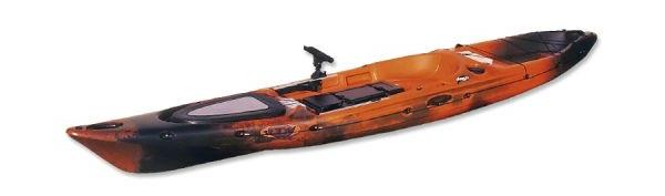 Kayak de pesca Polietileno sandwich o tricapa