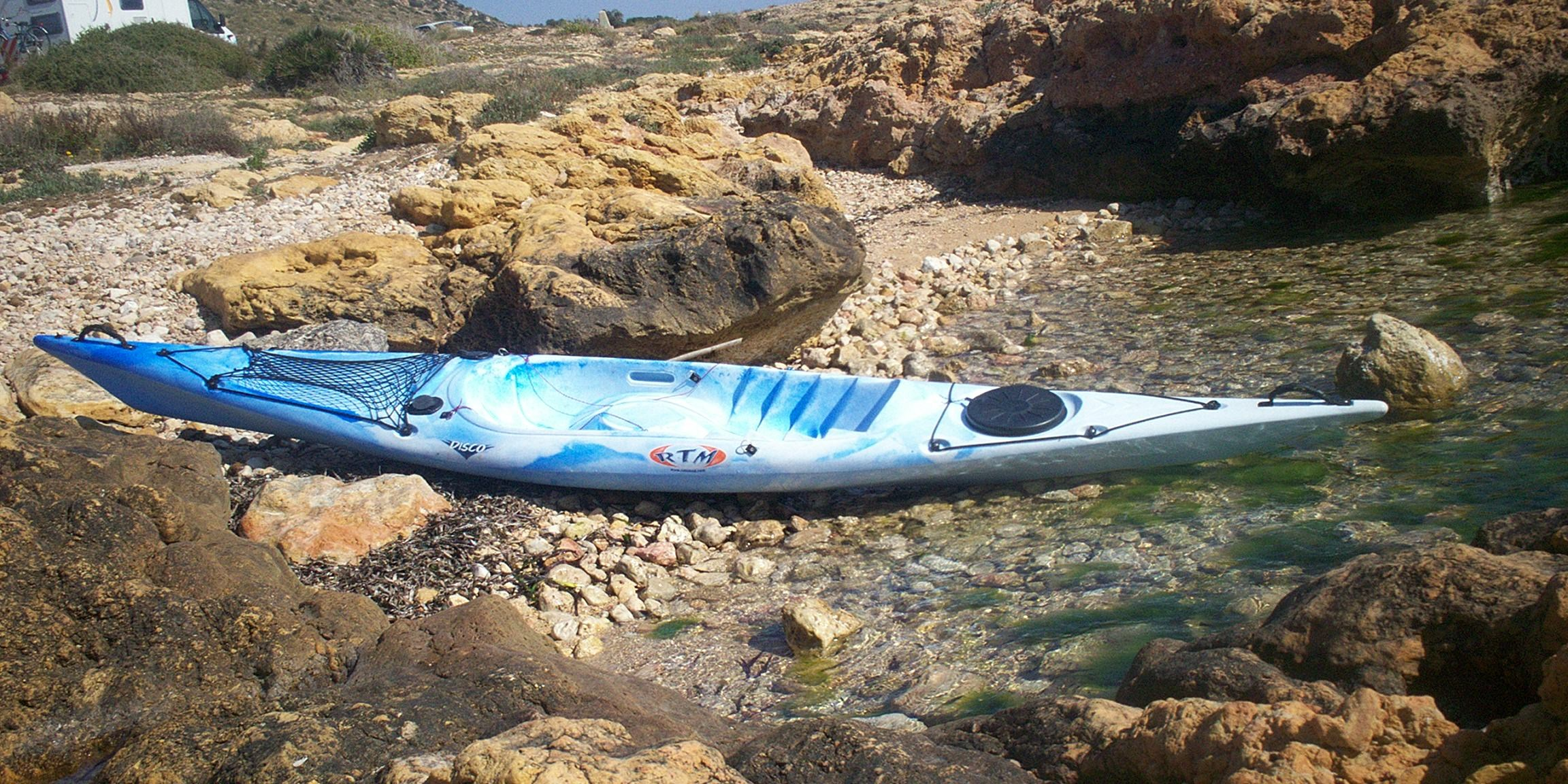"Kayak de pesca SIT OP TOP O ""ABIERTOS"""