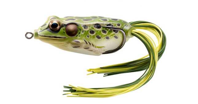 Señuelo rana de agua dulce