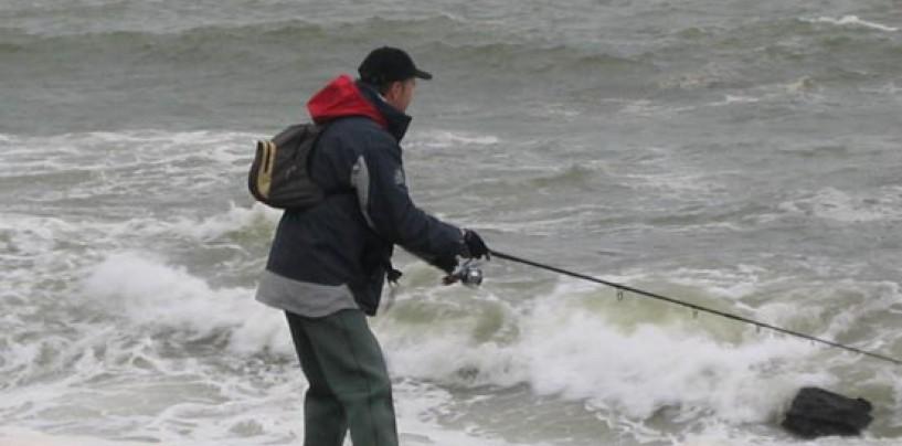 Pescador de spinning norteño en invierno: Alma de guerrillero