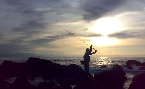 pesca de lubinas