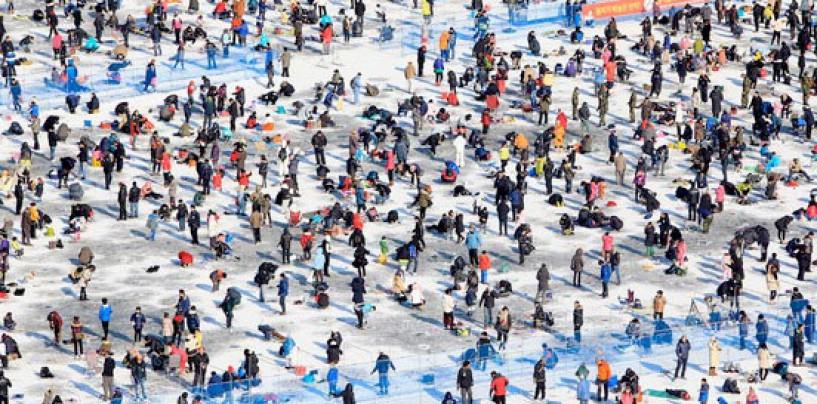 La pesca en el mundo: El Festival de la Trucha de Montaña de Hwacheon, Corea del Sur