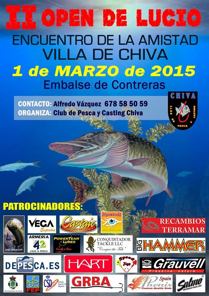 """II Open de Lucio """"Encuentro de la amistad Villa de Chiva"""""""