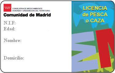 Licencias de pesca en madrid