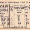 LICENCIAS DE CAZA Y PESCA