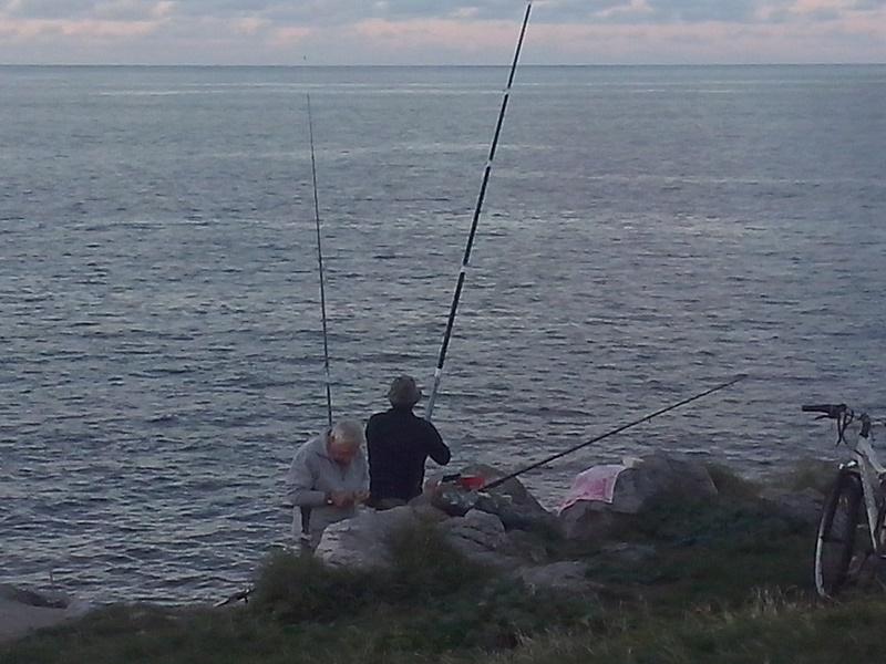 escenario de pesca del sargo