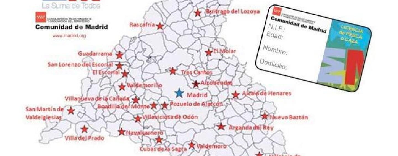 Cómo sacar la licencia de pesca de Madrid