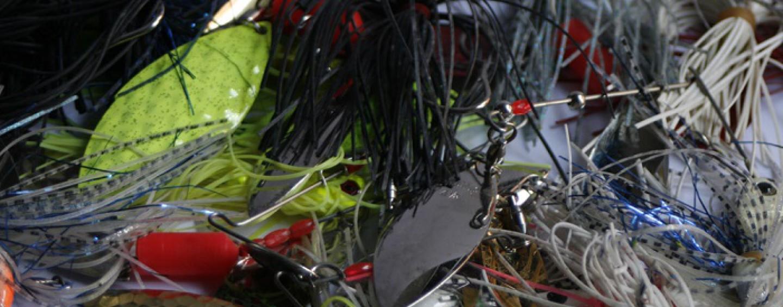 Claves para escoger la spinnerbait adecuada, el color de los faldones y las palas