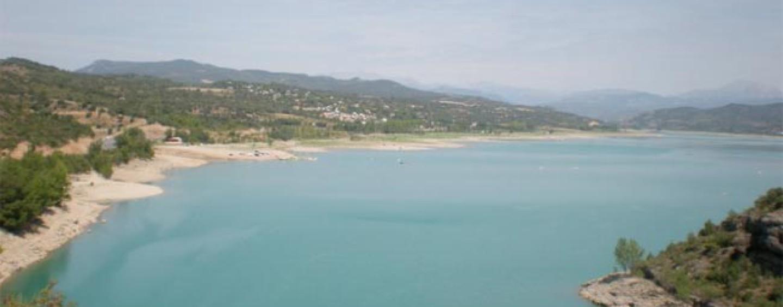 Pesca en el Embalse de Barasona (Huesca)