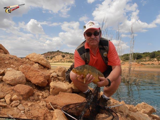 pesca de carpas a mosca