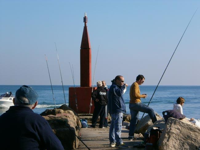 La pesca de la mabra o herrera en el verano