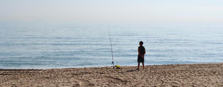 Como tener éxito en surfcasting en grandes playas de arena