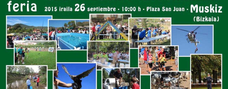 IX Feria de Caza y Pesca de Muskiz, una cita inexcusable para los amantes de los deportes de naturaleza