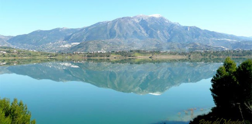 Pesca en el Embalse de la Viñuela
