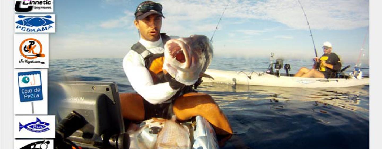Día épico de pesca en kayak y triplete de dentón