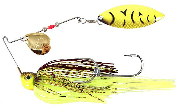 Spinnerbait montaje mixto