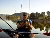 Black Bass desde kayak