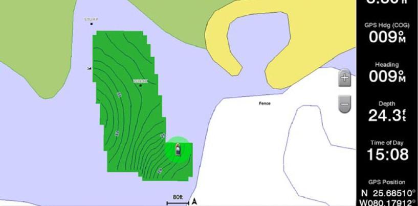 Programas de cartografía de las principales sondas de pesca