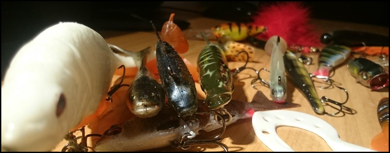 Colores de los señuelos para la pesca del lucio