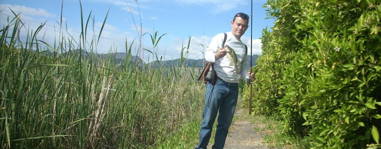 Pesca del black bass en charcas y otros lugares pequeños