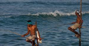 Pesca en Sri Lanka