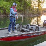 Speed running o pesca rápida del black bass para conseguir su picada