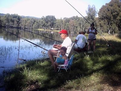pesca embalse de Aracena