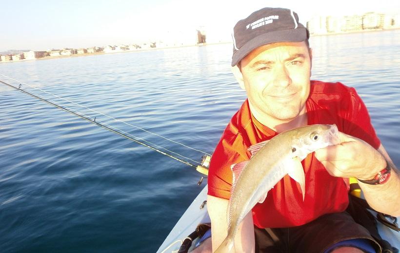 Pesca de jurelas en verano