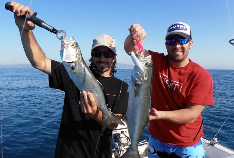 la pesca y los amigos