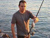 Pesca de jurelas en el calor del verano