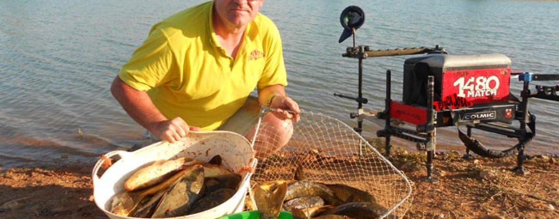 Nociones básicas para pescar al coup con enchufable