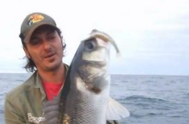 Vídeo de pesca: Lubinas con vinilo