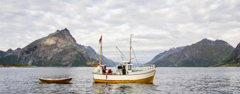 Destinos de pesca: La pesca en noruega en costa y embarcado