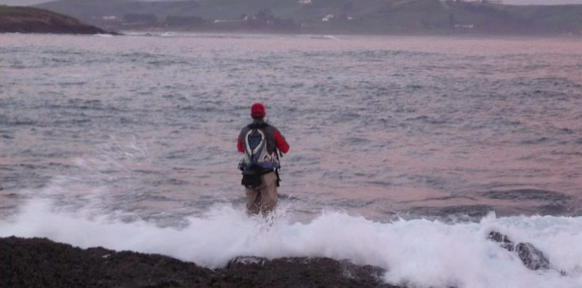 Pesca invernal, una actividad sólo para valientes…