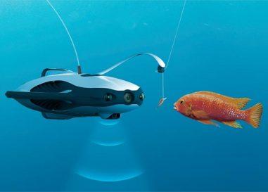 Un dron submarino para los pescadores ¿Capricho, útil o adiós a la magia de la pesca?
