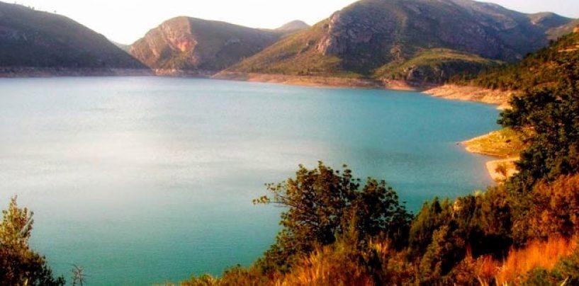 Pesca en el embalse de Loriguilla, el último embalse del Turia