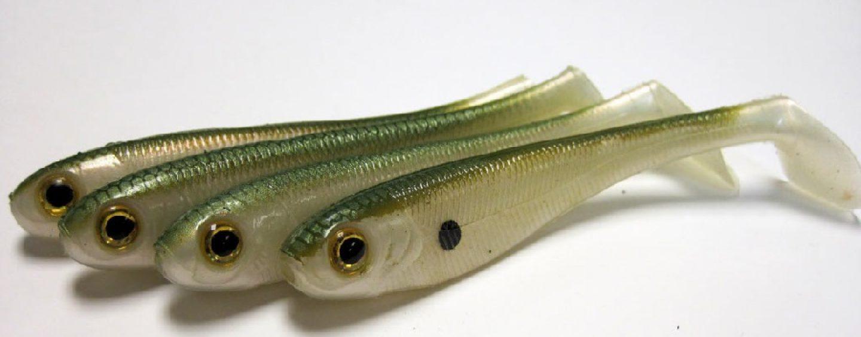 Los señuelos blandos indispensables para pescar basses de orilla