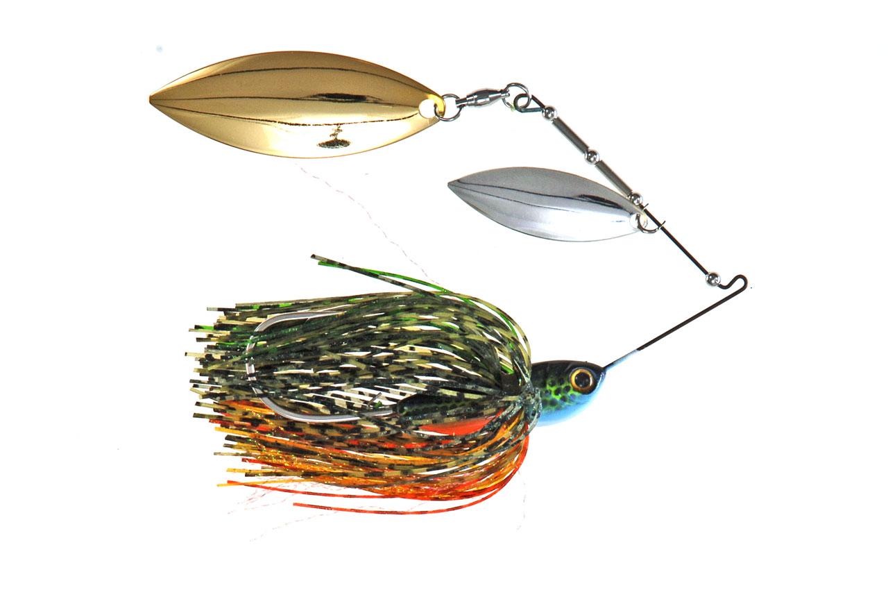 Spinner baits para la pesca de black basses desde orilla