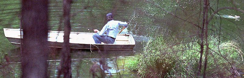 anécdota de pesca del Presidente Carter.