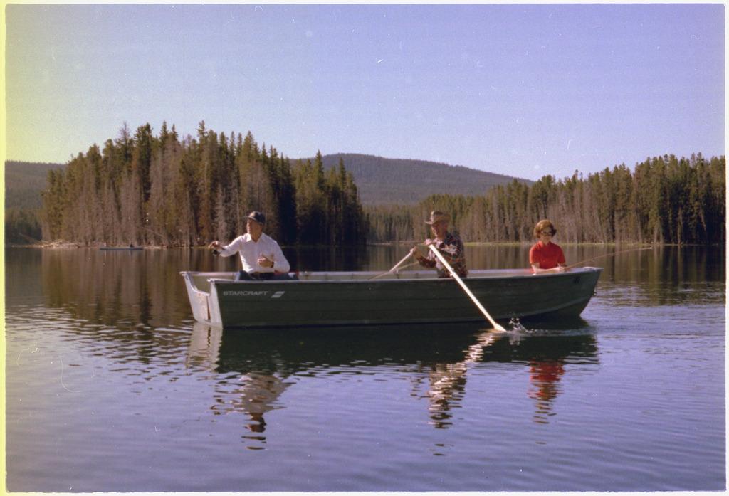 la anécdota de pesca del Presidente Carter.