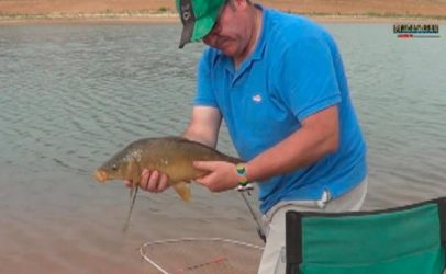 Pesca a la inglesa con flotador invertido