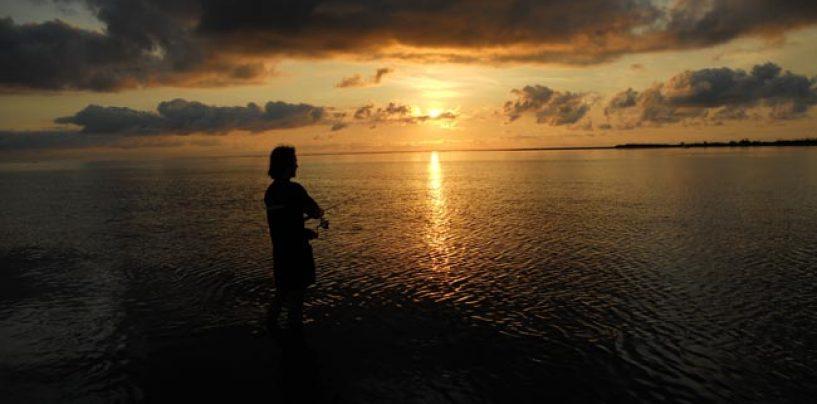 Cómo disfrutamos más de la pesca, ¿solos o acompañados?