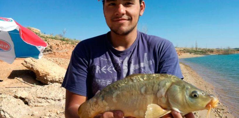 Como pescar carpas con pocos medios