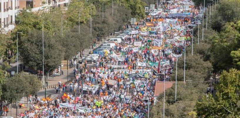 La manifestación de Córdoba o la poca visibilidad de los problemas de la pesca deportiva