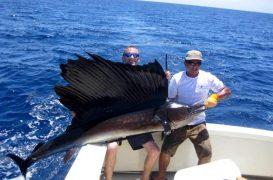 Destino de pesca: Quepos el paraíso en Costa Rica de la pesca del pez vela