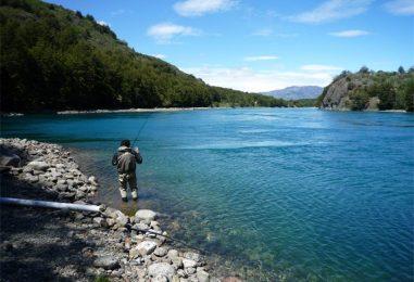 Destino de pesca: Río Baker, el paraíso de las truchas en la Patagonia Chilena