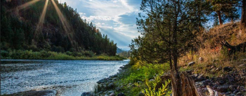 La pesca de la trucha en Montana (II): El río blackfoot, los tramos bajos