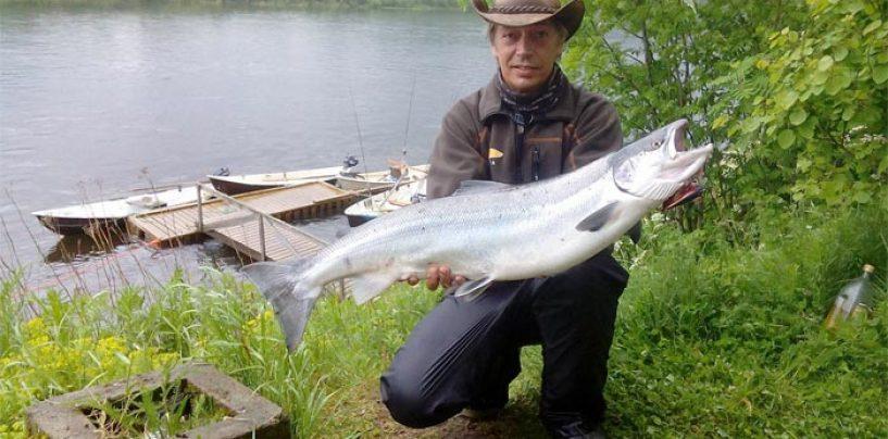 Destinos de pesca: Río Namsen la joya de la corona de los ríos salmoneros noruegos