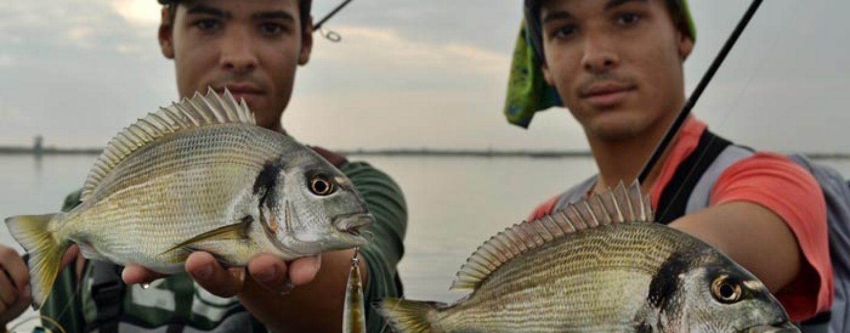 Spinning ligero desde costa en el delta del Ebro