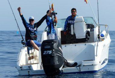 Primer Objetivo científico de pesca Roshi en el Delta del Ebro: marcar y soltar